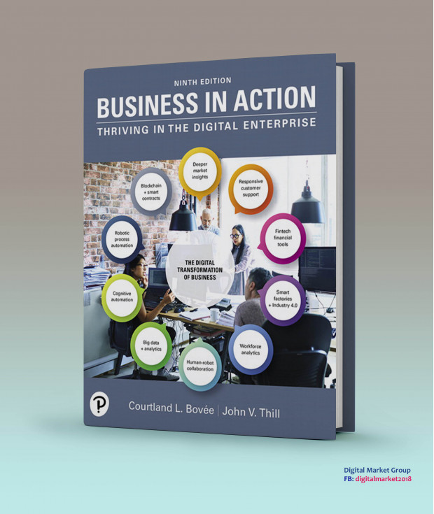 Test Bank and Instructor Resources for Business in Action, 9th Edition